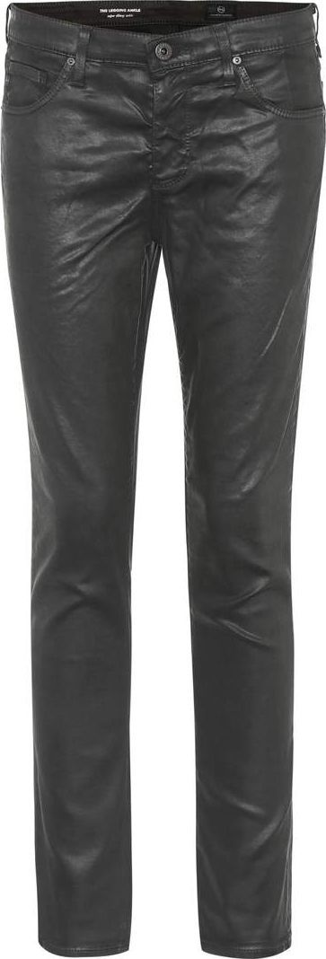 AG Jeans The Legging Ankle coated skinny jeans
