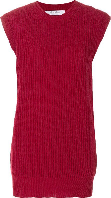 Max Mara ribbed knitted top