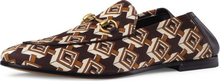 Gucci Isometric G Print Loafer