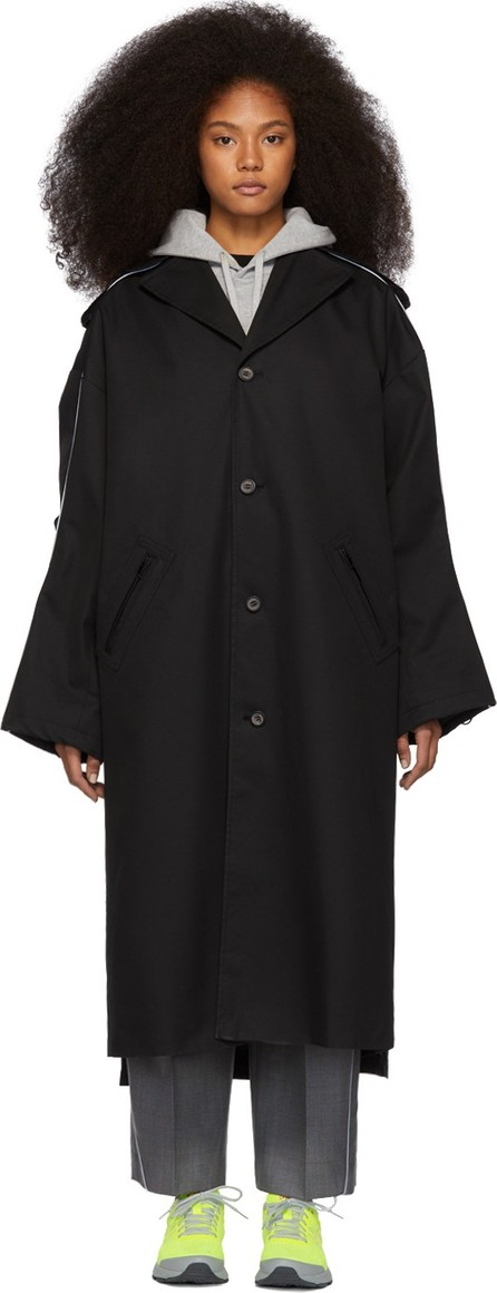 ADER error Black Single Coat