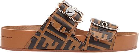 FF double strap sandals