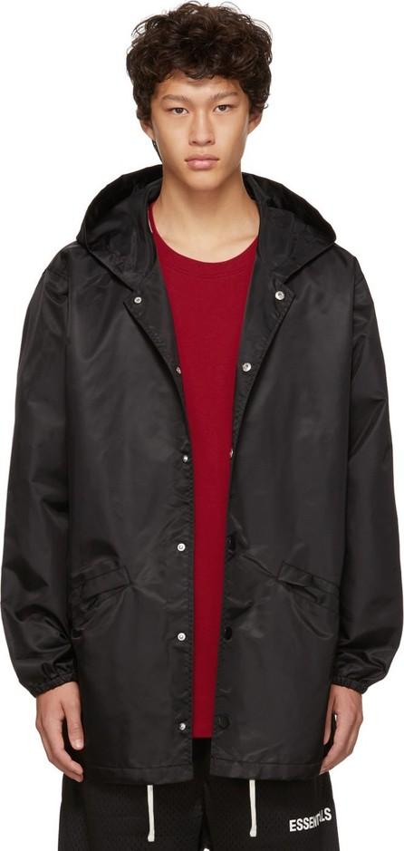 Essentials Black Coaches Jacket