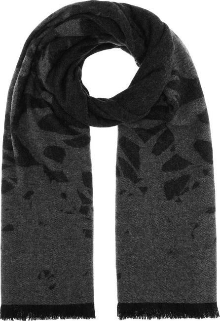 McQ - Alexander McQueen Swallow jacquard wool-blend scarf