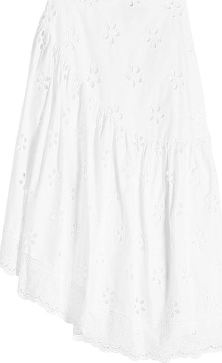 Simone Rocha Asymmetric Cotton Skirt