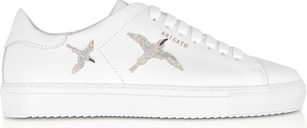 Axel Arigato Clean 90 Bird White & Silver Leather Women's Sneakers