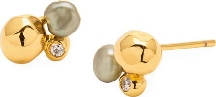 Gorjana Vienna Shimmer Stud Earrings