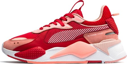 PUMA RS-X Colorblock Sneakers, Red