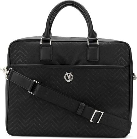 Versace Chevron monogram briefcase