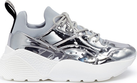 Stella McCartney 'Eclypse' mirror platform sneakers