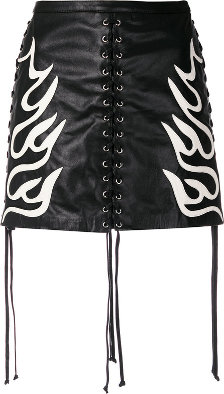 McQ - Alexander McQueen Lace-up mini skirt