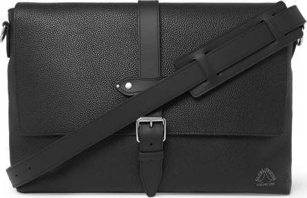 Globe-Trotter Full-Grain Leather Messenger Bag