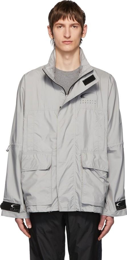 Axel Arigato Grey Atlas Track Jacket