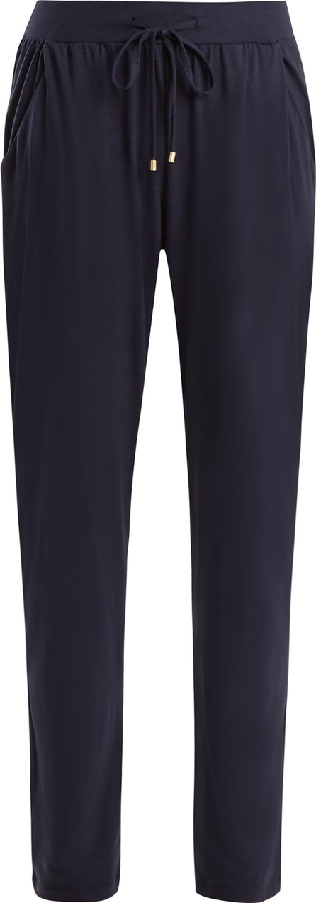 Hanro Tie-waist cotton-jersey trousers