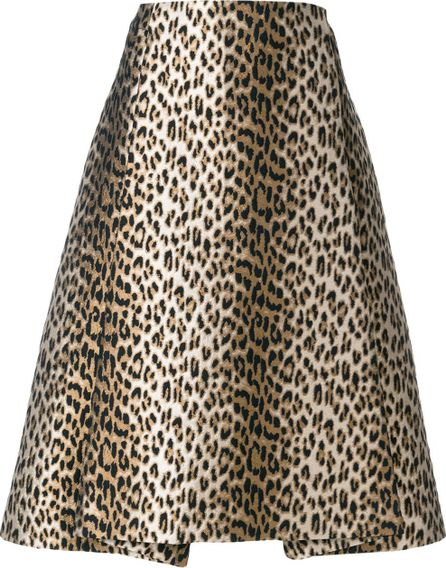 Antonio Marras leopard print skirt