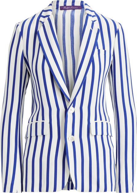 Ralph Lauren Yvette Striped Silk Jacket