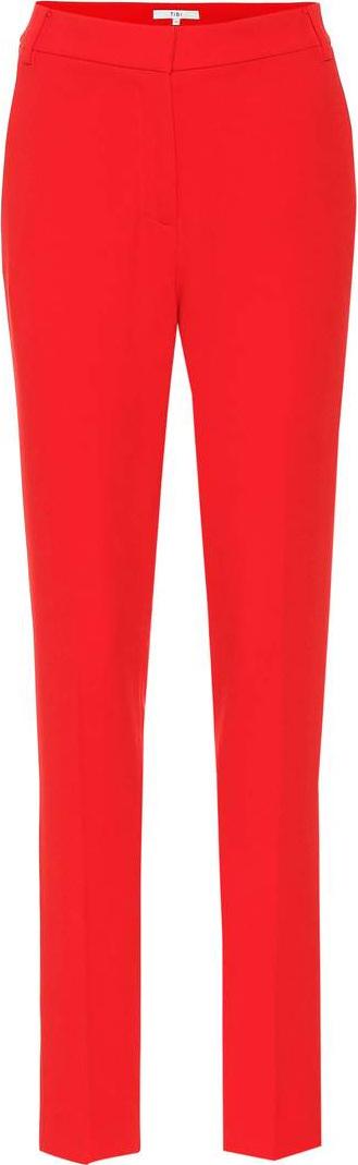 Tibi Beatle cropped slim pants