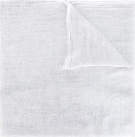 Faliero Sarti frayed trim scarf