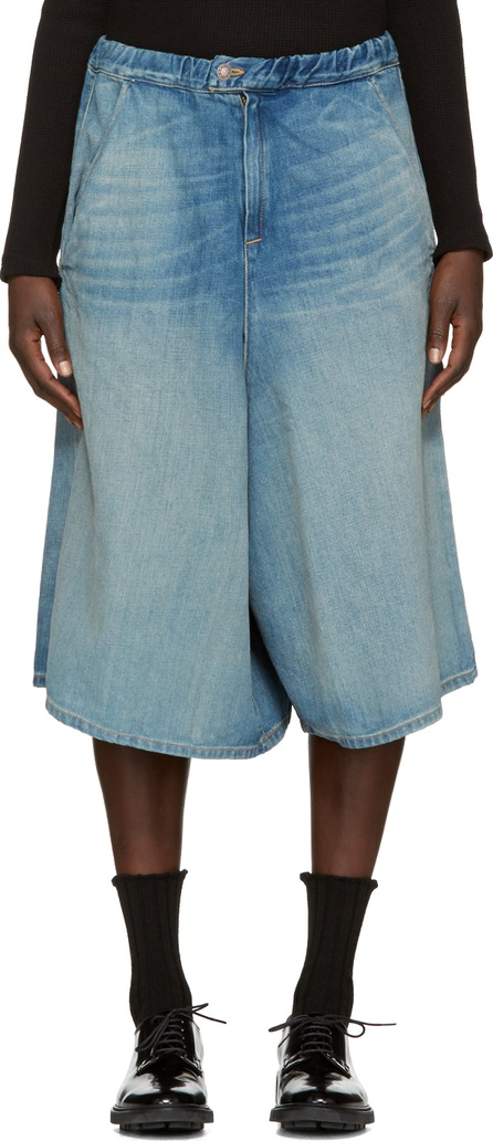 6397 Indigo Denim Shorts