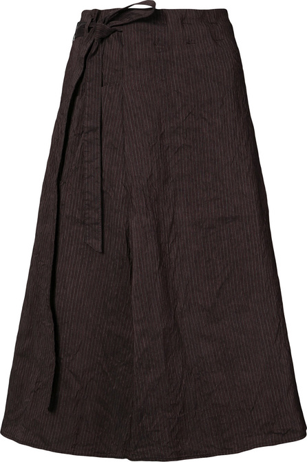 Forme D'expression Striped side tie skirt