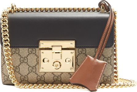Gucci Padlock GG Supreme small cross-body bag