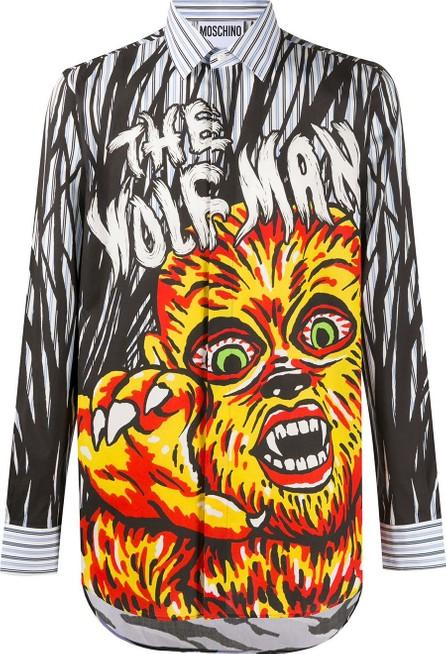 Moschino Graphic print cotton shirt
