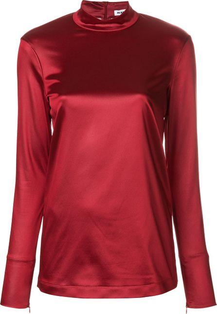 Jil Sander high neck blouse