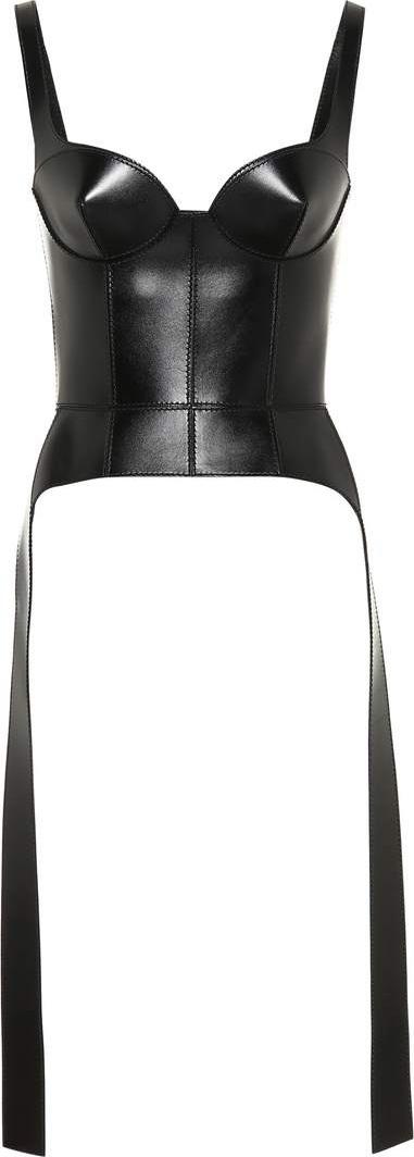 Alexander McQueen Leather corset