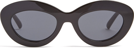 Le Specs Fluxus cat-eye acetate sunglasses