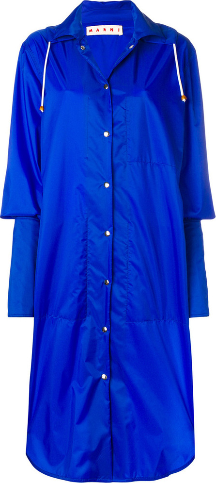 Marni Long extended cuff raincoat