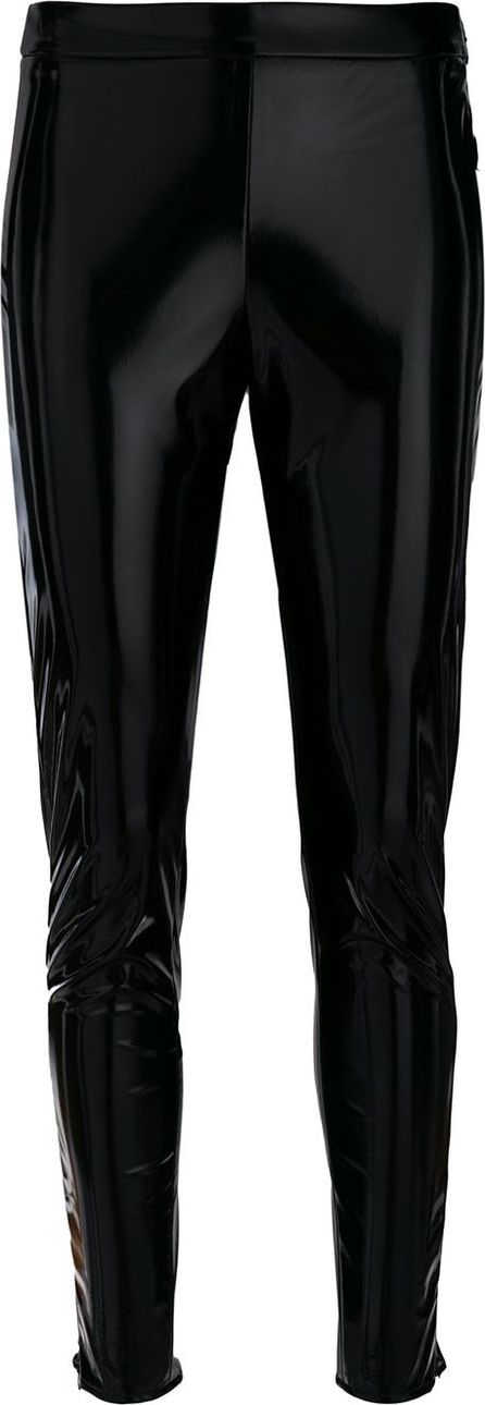 GIAMBA slim fit sheen trousers