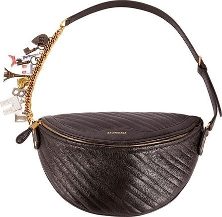 Balenciaga Quilted Leather Souvenir Belt Bag