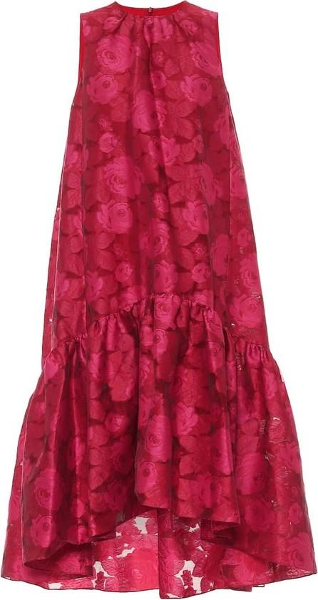 Erdem Winsloe floral fil coupé midi dress