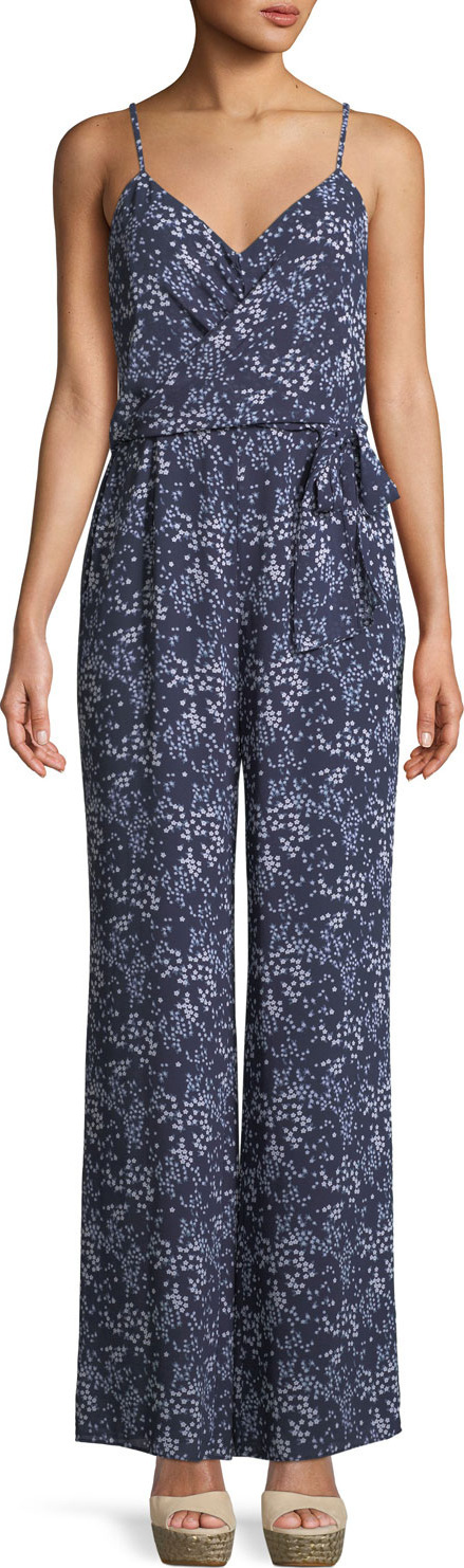 MICHAEL MICHAEL KORS Scattered Blooms Sleeveless Jumpsuit