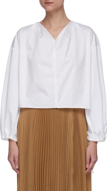 EQUIL V neck cotton blouse