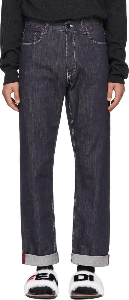 Fendi Indigo 'Fendi Mania' Jeans