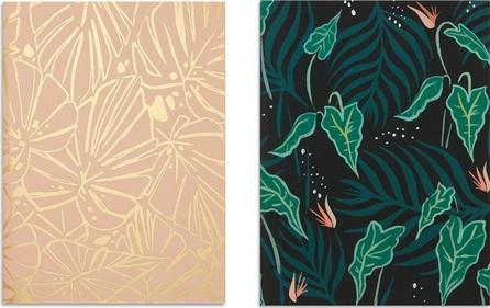 Idlewild Co. Lush Greens pocket notebook set