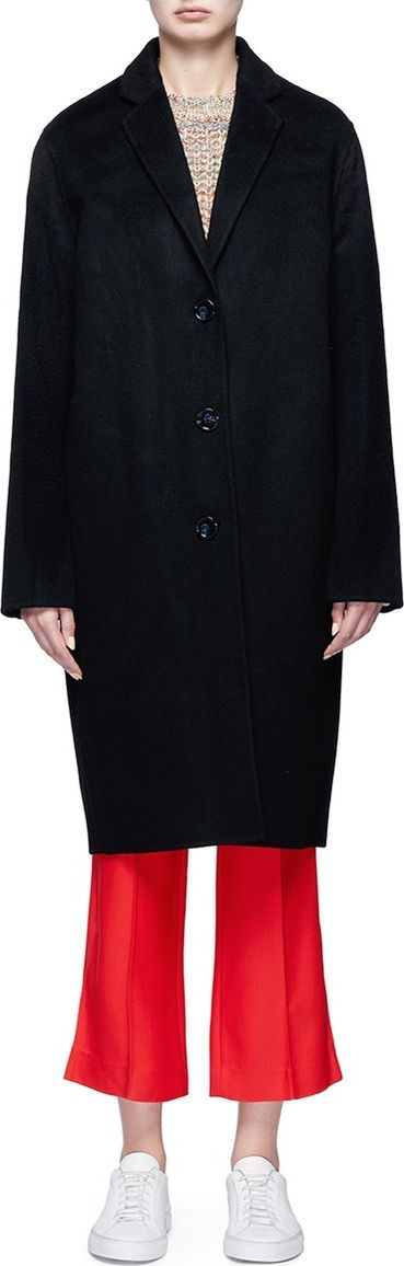 Acne Studios 'Avalon' wool-cashmere melton coat