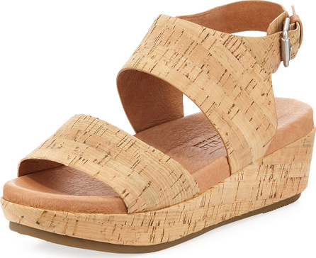 Gentle Souls Lori Cork Comfort Wedge Sandal