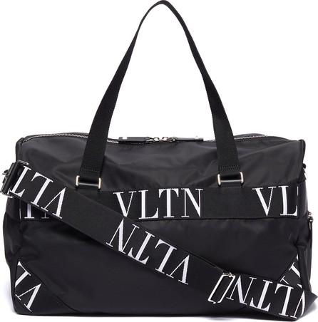 Valentino Logo strappy gym bag