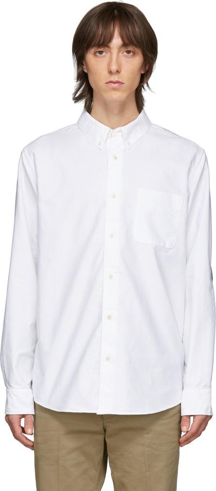 Visvim White & Indigo Albacore Bandana N.D. Shirt