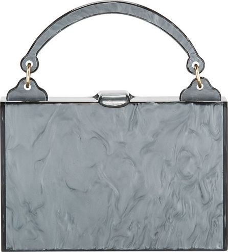 Edie Parker Housewife Solid Top-Handle Bag