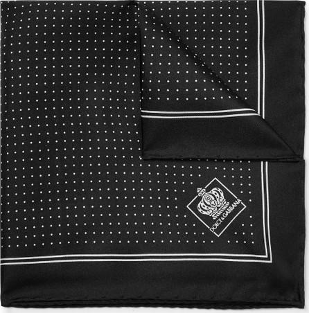 Dolce & Gabbana Pin-Dot Silk-Twill Pocket Square