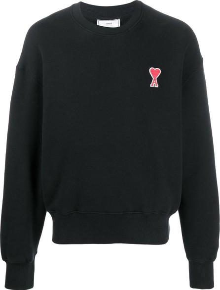 AMI Ami de Coeur embroidered sweatshirt