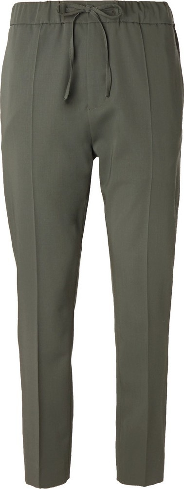 Cmmn Swdn Slim-Fit Tapered Wool Drawstring Suit Trousers