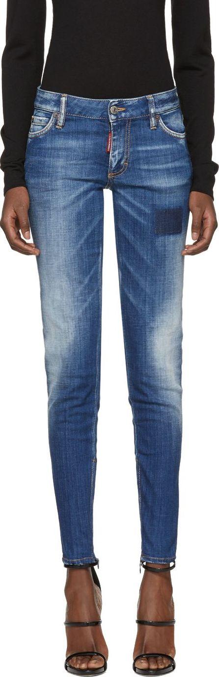DSQUARED2 Blue Jennifer Jeans
