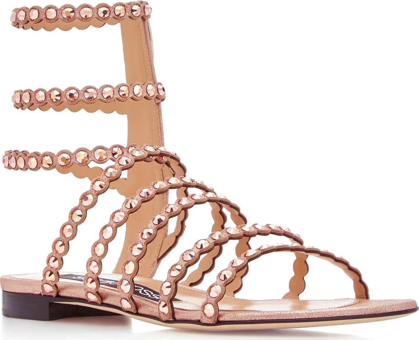 Sergio Rossi - Studded Suede Sandals