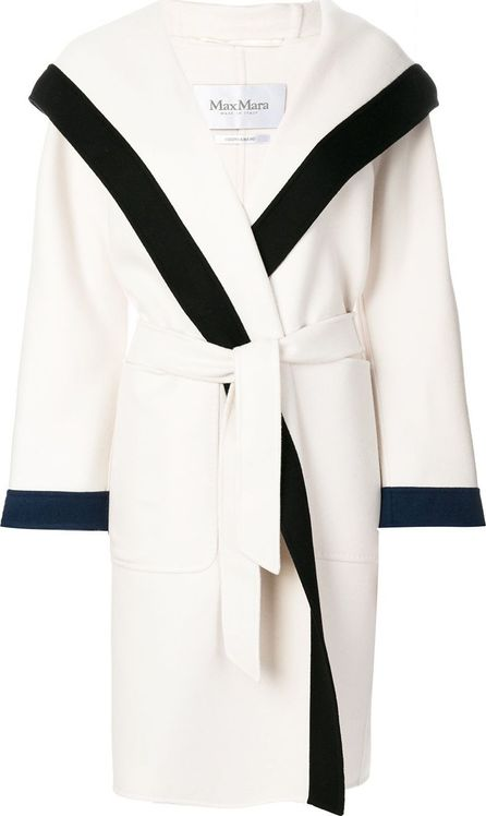 Max Mara Belted knit coat