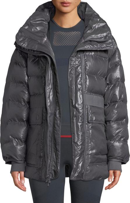Adidas By Stella McCartney Training Zip-Front Parka Jacket