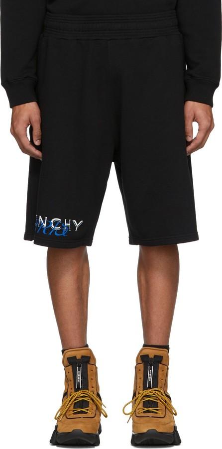 Givenchy Black Boxing Amore Shorts