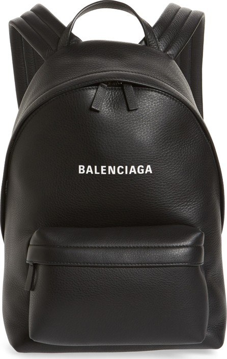 Balenciaga Everyday Calfskin Leather Backpack